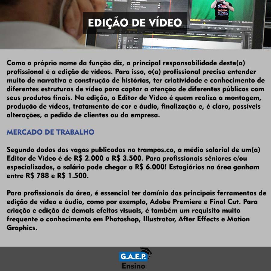 Explicação Edição de Vídeos Oficial