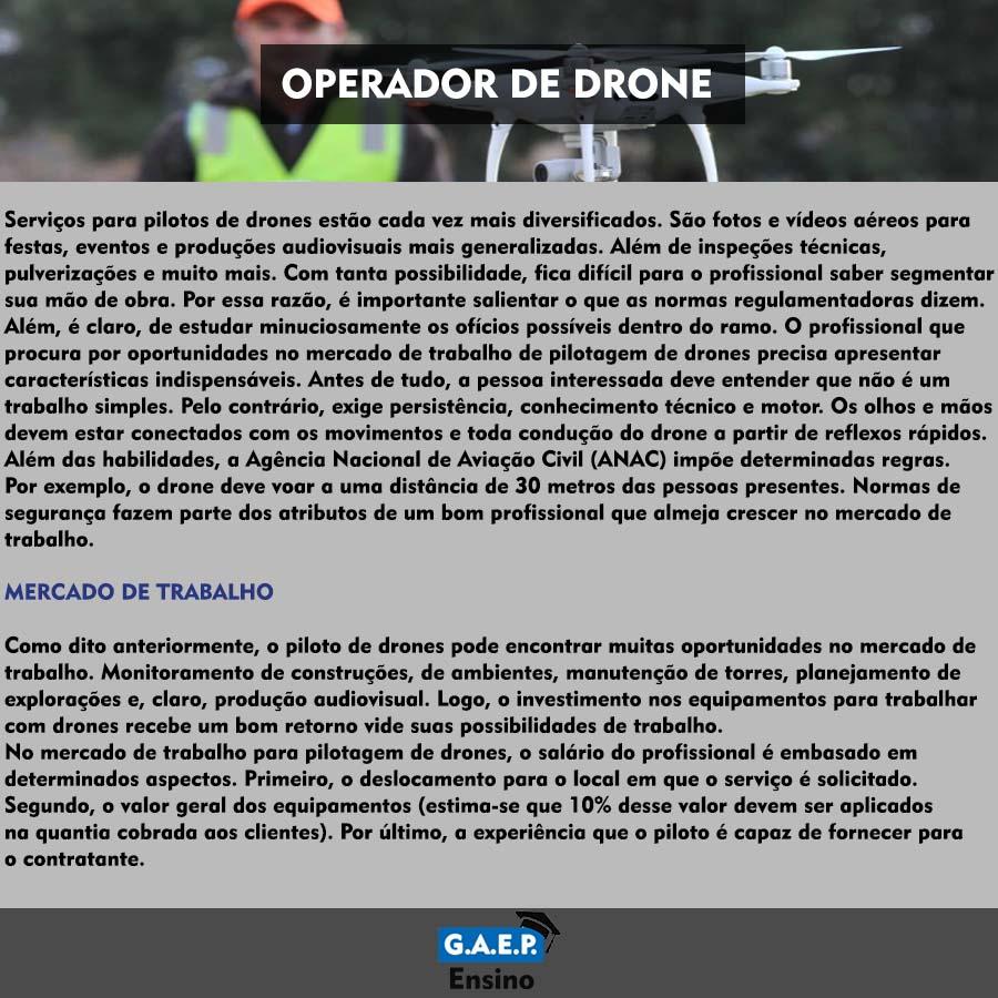 Explicação Operador de Drones Oficial
