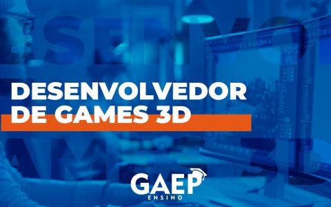 Curso de Desenvolvedor de Games 3D